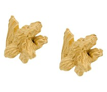 'Under Earth' vergoldete Silberohrringe