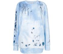perforated sweatshirt