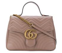 Mittelgroße GG Marmont Handtasche aus Leder