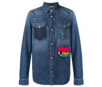 Jeanshemd mit Patch