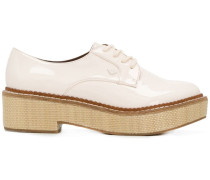 Schuhe mit Plateausohle