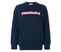 "Sweatshirt mit ""Formidable""-Print"