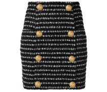 bouclé-tweed mini skirt