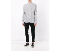 'Hartley Stripe Grandad' Hemd