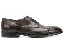 punch hole detail Derby shoes
