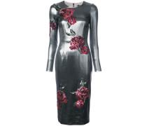 Kleid mit Rosen-Patches