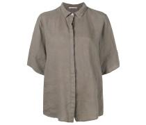 Klassisches Popeline-Hemd