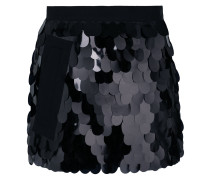 sequinned shorts