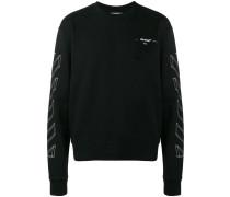 Sweatshirt mit Umriss-Print