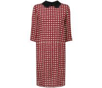 Kleid mit Mikro-Muster