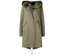 loose parka coat