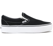 'Classic' Slip-On-Sneakers aus Canvas