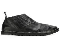 Loafer mit Faltenverzierung