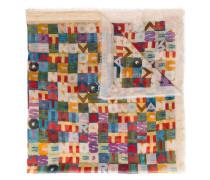 Schal mit Alphabet-Print