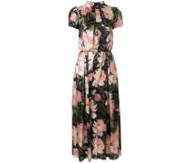 Cropped-Jumpsuit mit floralem Print