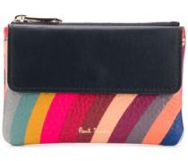 Portemonnaie mit Regenbogen-Print