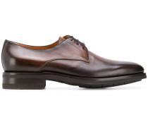 Derby-Schuhe mit ausgeblichenem Effekt