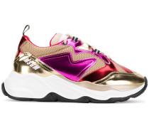 'Attack' Sneakers mit breiter Sohle