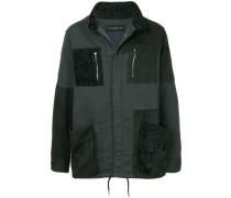 Leichte Jacke im Patchwork-Design