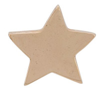 18kt Rotgoldohrstecker mit Stern