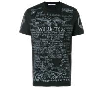 "T-Shirt mit ""World Tour""-Print"