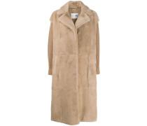 Mantel mit geradem Schnitt