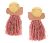 Mulberry fringe earrings