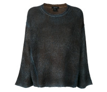 Pullover in Distressed-Optik