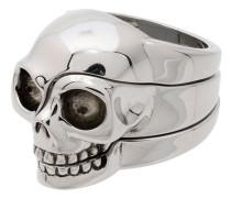 'Divided Skull' Ring