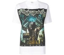 "T-Shirt mit ""Strike Back""-Print"