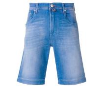 Knielange Jeansshorts