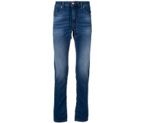 Schmale Jeans mit Kordelzug