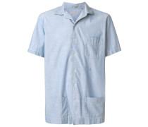 Kurzärmeliges Hemd mit Taschen
