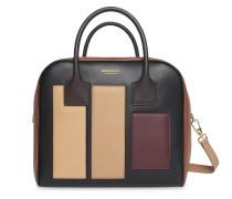 Mittelgroße Handtasche mit Einsätzen