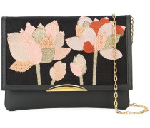flower patch shoulder bag