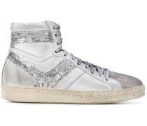sequin panel Barthyno sneakers