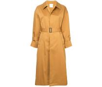 button-down coat