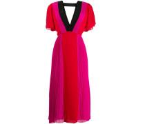 Kleid in Colour-Block-Optik