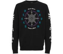 'Rosone' Sweatshirt mit Print