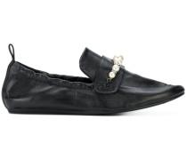 Loafer mit Perlen