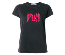 "T-Shirt mit ""Fun""-Print"