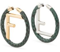 F Is  earrings