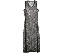 Gestricktes Kleid in Netzoptik