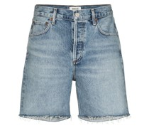 Rumi frayed denim shorts