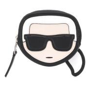 Karl face coin purse