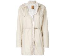 Wasserfester Mantel mit Kapuze