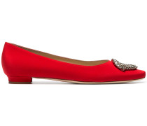 Red Okkato 10 Satin pumps