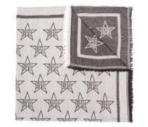 Schal mit Sternemotiv