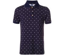 swan print polo shirt