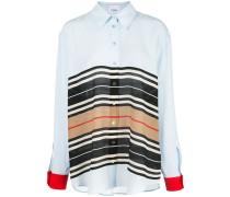 Oversized-Hemd mit Streifen